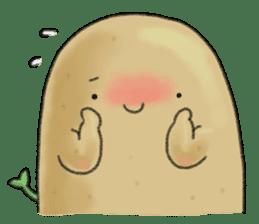 Chubby potato sticker #10587365