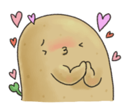 Chubby potato sticker #10587366