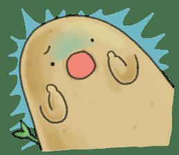 Chubby potato sticker #10587369