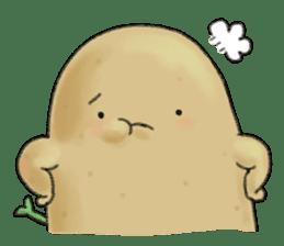 Chubby potato sticker #10587376