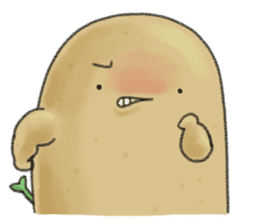 Chubby potato sticker #10587377