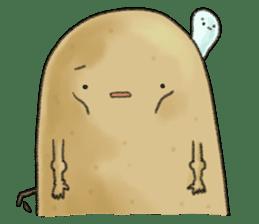 Chubby potato sticker #10587379