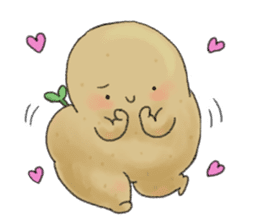 Chubby potato sticker #10587381
