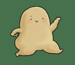 Chubby potato sticker #10587383