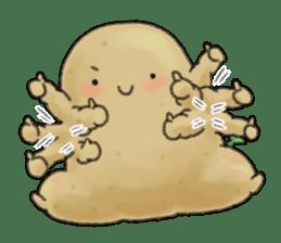 Chubby potato sticker #10587385