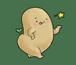 Chubby potato sticker #10587386