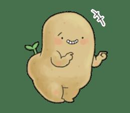 Chubby potato sticker #10587388