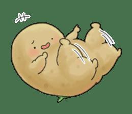 Chubby potato sticker #10587389