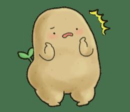 Chubby potato sticker #10587390