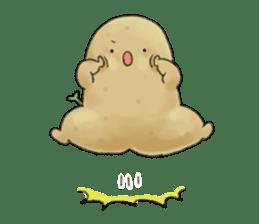 Chubby potato sticker #10587391
