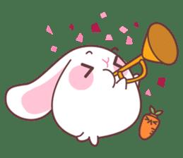 Fly with Happy Rabbit Flabbit !! sticker #10601223