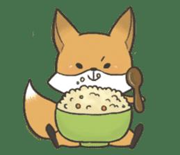 Carman fox sticker #10603979