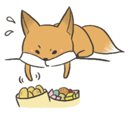 Carman fox sticker #10603980