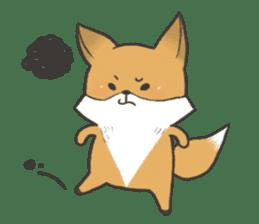 Carman fox sticker #10603981