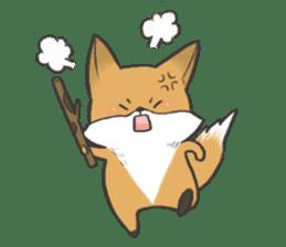 Carman fox sticker #10603983