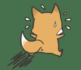 Carman fox sticker #10603984