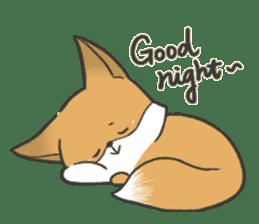 Carman fox sticker #10603987