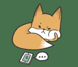 Carman fox sticker #10603988