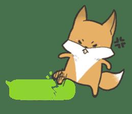 Carman fox sticker #10603989