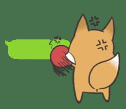 Carman fox sticker #10603990