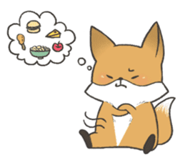 Carman fox sticker #10603998