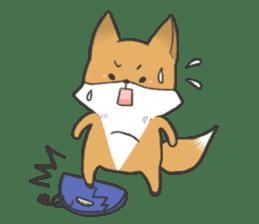Carman fox sticker #10603999