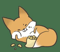 Carman fox sticker #10604001