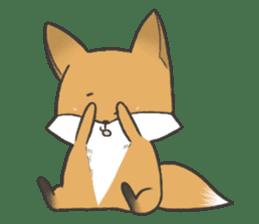 Carman fox sticker #10604008