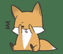 Carman fox sticker #10604009