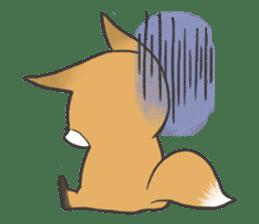 Carman fox sticker #10604010