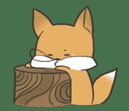 Carman fox sticker #10604014