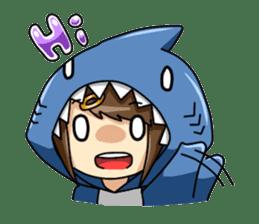 Shark's expressions sticker #10618784