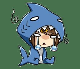 Shark's expressions sticker #10618788