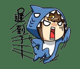 Shark's expressions sticker #10618798