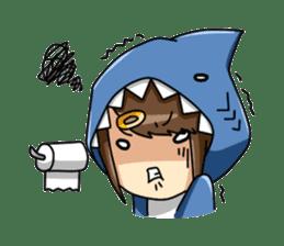 Shark's expressions sticker #10618799