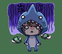 Shark's expressions sticker #10618806