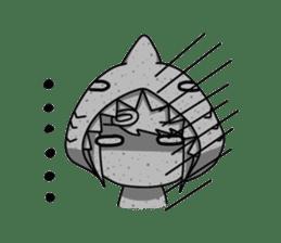Shark's expressions sticker #10618809