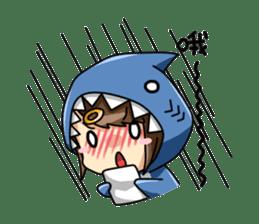 Shark's expressions sticker #10618811