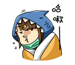 Shark's expressions sticker #10618816