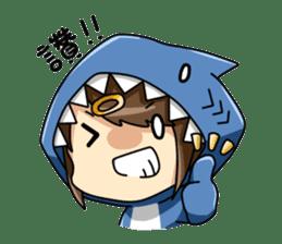 Shark's expressions sticker #10618821