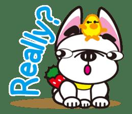 French bulldog Hana and dogs sticker #10626010