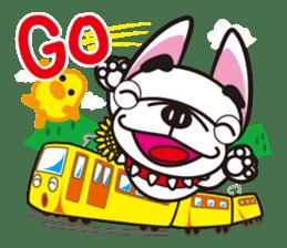 French bulldog Hana and dogs sticker #10626013