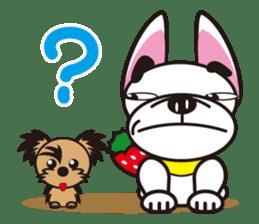 French bulldog Hana and dogs sticker #10626017