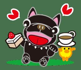 French bulldog Hana and dogs sticker #10626020