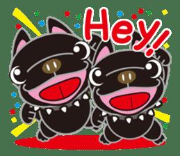 French bulldog Hana and dogs sticker #10626021