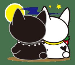 French bulldog Hana and dogs sticker #10626024