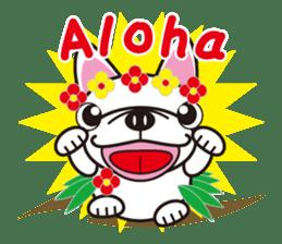 French bulldog Hana and dogs sticker #10626026