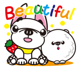 French bulldog Hana and dogs sticker #10626033