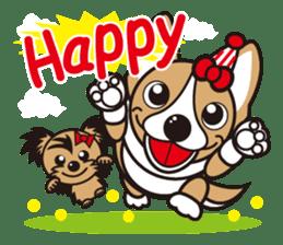French bulldog Hana and dogs sticker #10626034