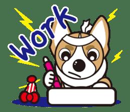 French bulldog Hana and dogs sticker #10626036
